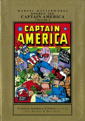 Marvel Masterworks: Golden Age Captain America - Volume 6 PDF