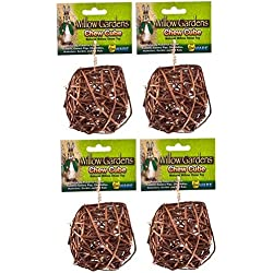 (4 Pack) Ware Manufacturing Willow Small Pet Chew Cubes