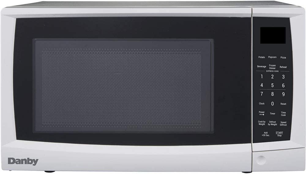 Danby DMW09A2WDB 0.9 cu. ft. Microwave Oven, White