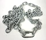 1/4'' x 72'' MARINE TRAILER SAFETY CHAINS AS CAR TOWING BOAT CAMPER HORSE .25 IN CABLES ANCHOR