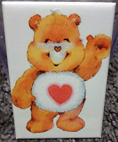 Tenderheart Bear 2 x 3 Refrigerator Locker MAGNET Care Bears 80's Vintage