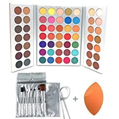 Features of Beauty Glazed 63 shades make up palette:  ✦ SUPER PIGMENTED, SOFT AND SMOOTH: Super creamy, velvety soft and smooth, easy to layer and blend ✦ LONG LASTING COLOR: Stay on for all day. Highly pigmented and long lasting colors ✦ 35 ...