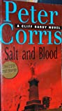 Front cover for the book Salt and Blood by Peter Corris