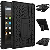 Fire HD 7 Case 2015,Gotd Kindle Fire HD 7 Case Full-body Rugged Hybrid Protective Case Cover, Dual Layer Design, Impact Resistant Bumper with Stand Holder