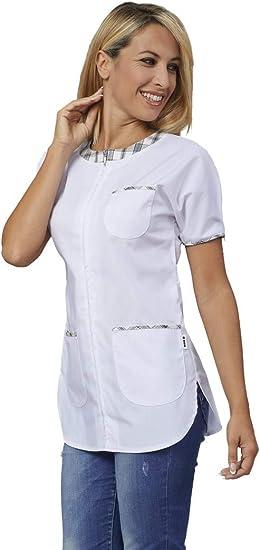 Casacca Donna Da Lavoro Siggi Gioia 28cs1424 Bianco M