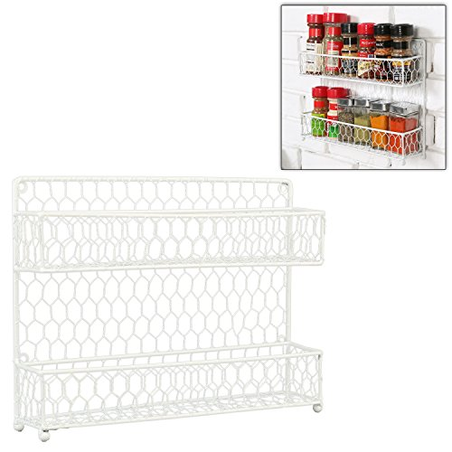 Country Kitchen Counter top Storage Organizer