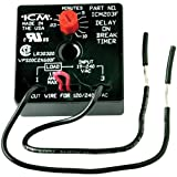 ICM Controls ICM203F Delay On Break Timer with 0.03 - 10 minutes Adjustable Timing and 6 Lead Wires