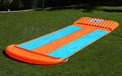 Bestway Two (2) H2O Go Triple Slider Kids Outdoor 3-Person Water Slides | 52200E by Bestway (Image #5)