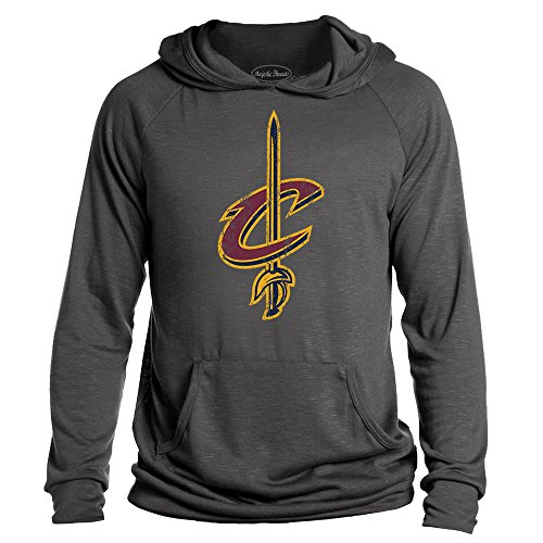 Nba Cleveland Cavaliers Mens Premium Hacci Slub Pullover Hoodie  Xx Large  Granite