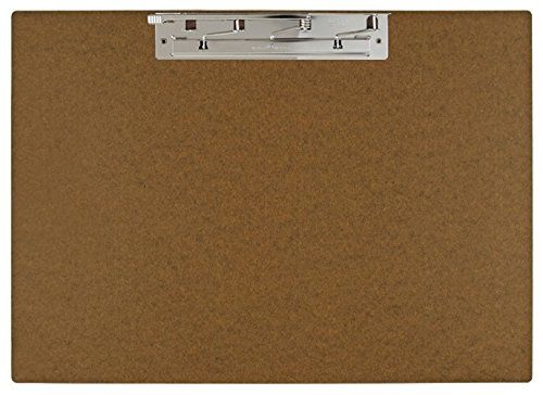 11x17 Hardboard Clipboard, 17 x 11 Inches, Brown (649461) by Ruby Paulina LLC