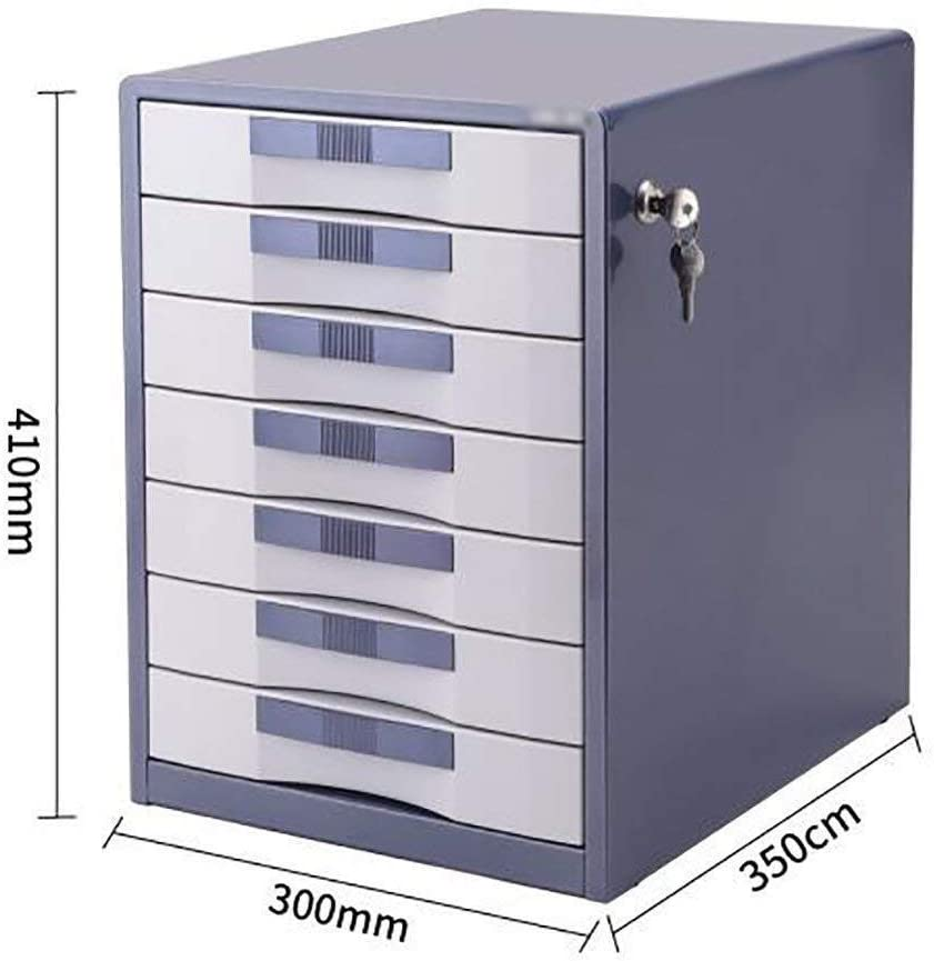 30X35X41CM Home Office Furniture File Cabinets Strong Collision Resistance Organizational Needs Standard Desks Aluminum Alloy,MDF Color : A1