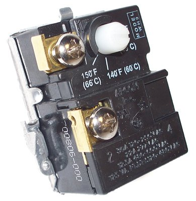 Double Thermostat Heater (Reliance/State Ind. (WH9) Lower Thermostat For Double Element Water Heaters)