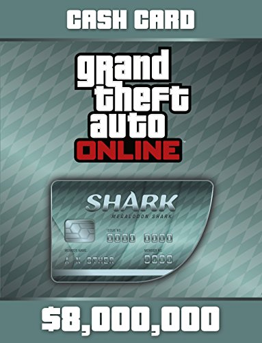 Grand Theft Auto Online: Megalodon Shark Card [Online Game Code] by Rockstar Games