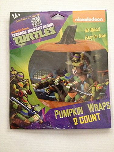 Teenage Mutant Ninja Turtles Halloween Pumpkin Wraps]()