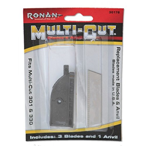 Ronan Multi-Cut Replacement Blades & Anvil for Multi-Cut 301