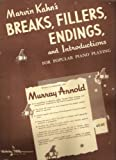 img - for Breaks, Fillers, Endings, and Introductions for Popular Piano Playing book / textbook / text book