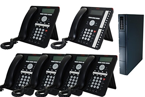 Business Phone System by AVAYA: 6 Phones Package Includes FREE Phone Service for 1 Year -  Avaya Inc., 700476005-06