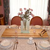 Tableboards by Spinella TBM2 Medium Cutting Board, Serving Tray, Hot Plate-All in One! CherryAccent
