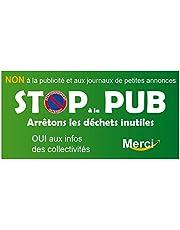 Autocollant stop pub