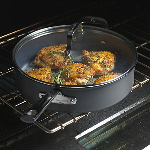 "Emeril Lagasse 62921 Dishwasher safe Nonstick Hard Anodized Fry Pan, 8"" ,Gray"
