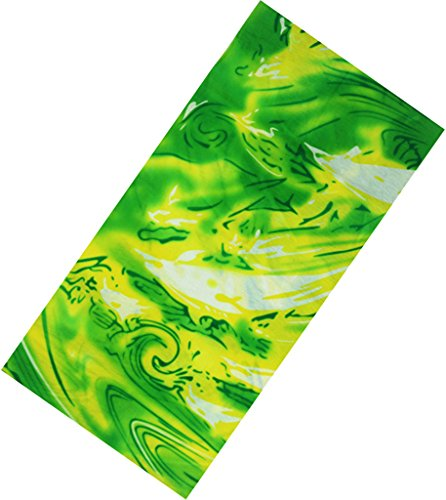 Woo2u Camouflage Seamless Outdoor Sport Cycling Magic Headband Neckerchief Green Headwrap Green Camo