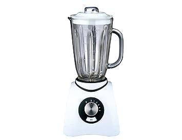 Gastroback 40898 Batidora de Vaso, 600 W, 1.5 litros, 0 Decibeles, Plástico, 5 Velocidades, Blanco: Gastroback: Amazon.es: Hogar