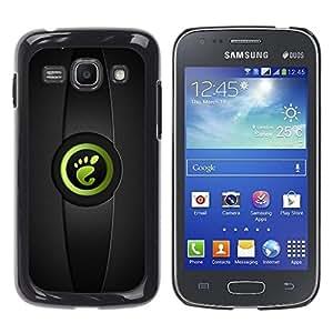 LECELL -- Funda protectora / Cubierta / Piel For Samsung Galaxy Ace 3 GT-S7270 GT-S7275 GT-S7272 -- Leg --