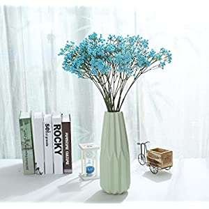 Olivachel 6pcs/Pack Baby's Breath Artificial Flowers Gypsophila Real Touch Flowers for Wedding Party Home Garden Decoration DIY Gift 73