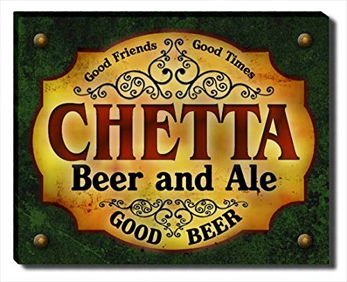 ZuWEE Chetta's Beer and Ale Gallery Wrapped Canvas Print -