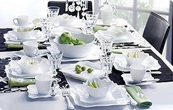 Luminarc Stylish French 19pc Dinnerware Set & Amazon.com   Luminarc Stylish French 19pc Dinnerware Set ...