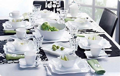 Luminarc Stylish French 19pc Dinnerware Set