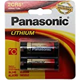 Panasonic 2CR-5MPA/1B 6V Photo Lithium Cylinder Battery