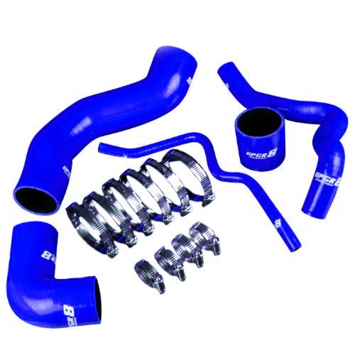 Upgr8 Audi Volkswagen 1.8T Engine High Performance 4-ply Turbo Induction Silicone Hose Kit (Blue) (Excluding Quattro (Silicone Turbo Hose Kit)