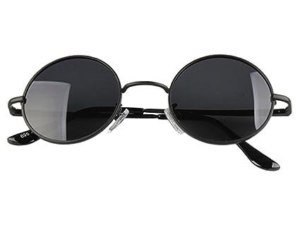 Ocaler 174;Círculo negro Unisex Retro Vintage redondas gafas ...