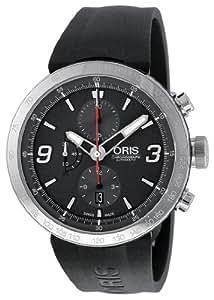 Oris Men's 01 674 7659 4163 07 4 25 06 TT1 Chrono Grey Dial Watch