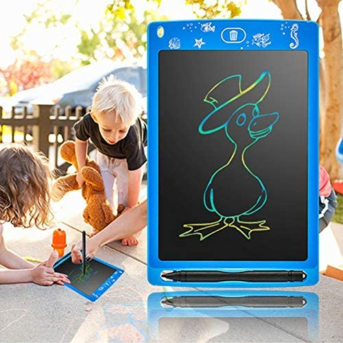 Color : Blue Digital Drawing Board Drawing Accessories 8.5 inch Color LCD Tablet Children LCD Electronic Drawing Board Green