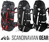 65l Backpack - Multi-day Pack for Hiking, Camping, Travel...