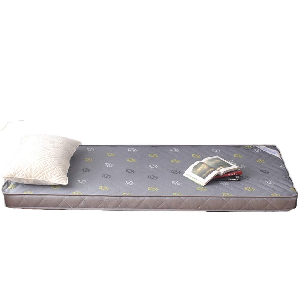 C 120x190cm H 6.5cm Breathable Mesh Fabric Mattress, Cotton Quilted Design Folding Mattress Soft Thick Bed Sleep-B 120x200cm H 6.5cm