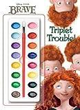 [ [ [ Triplet Trouble! [With Paint] (Disney Pixar Brave) [ TRIPLET TROUBLE! [WITH PAINT] (DISNEY PIXAR BRAVE) ] By Random House Disney ( Author )May-15-2012 Paperback