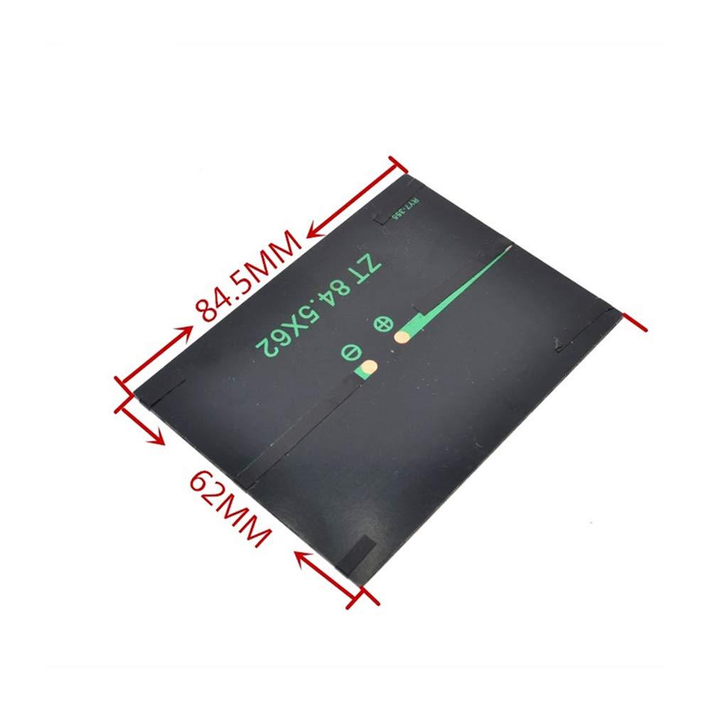 Panel Solar 0.5 W 5 V Módulo Portátil DIY Pequeño Panel ...