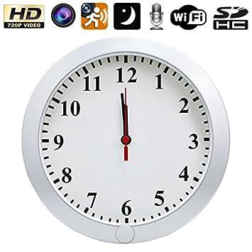 Reloj espía cámara IP WIFI HD 720P Micro visión nocturna IR