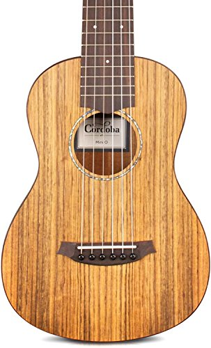 Cordoba Mini O Travel Acoustic Nylon String Guitar With Cordoba Gig Bag