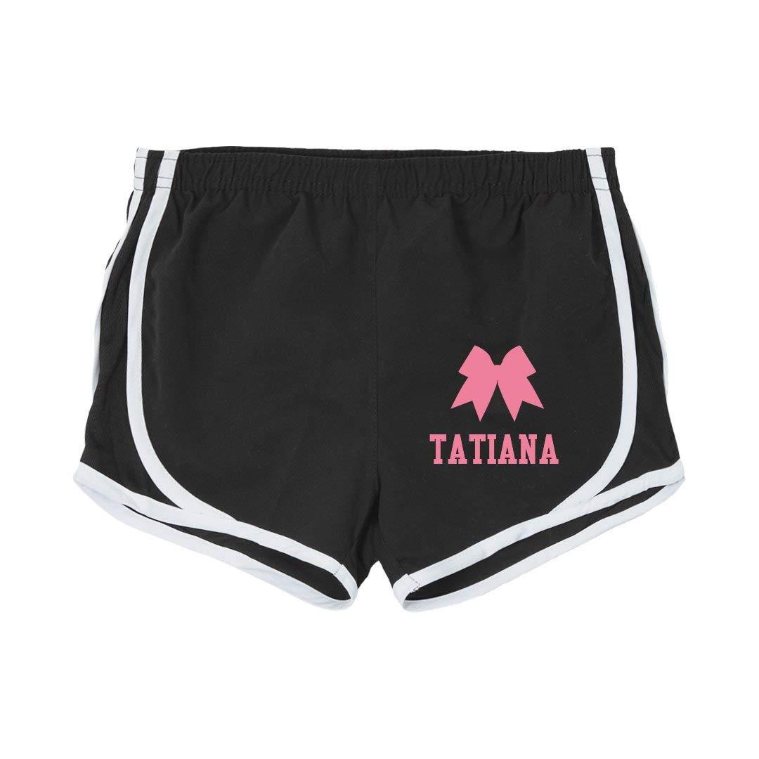 Tatiana Girl Cheer Practice Shorts Youth Running Shorts