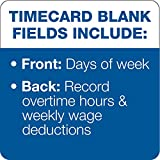 Time Card for Pyramid Model