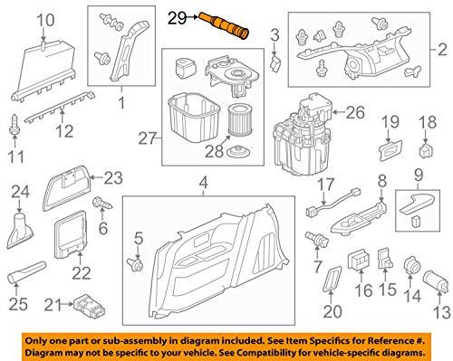 (Genuine Honda 84910-TK8-A01 Vacuum Hose Assembly)