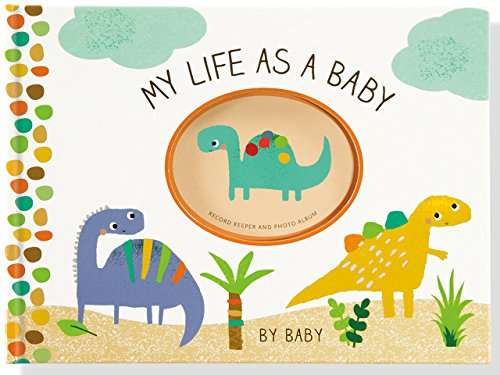 My Life as a Baby: Record Keeper and Photo Album (Dinosaurs)