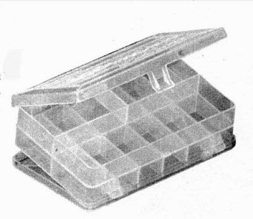 Plano 3414 Stowaway Micro Organizer Box, Clear