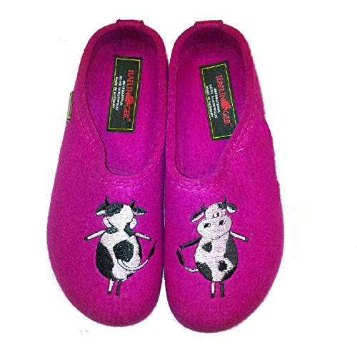 Para Violeta Fucsia Estar Casa Por De Haflinger Zapatillas Mujer Xwq4BB