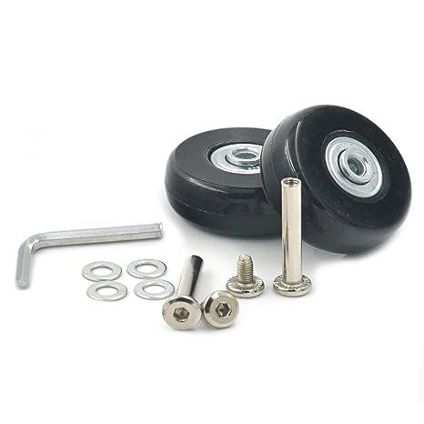 Fujiyuan: 1par de ruedas de repuesto de 45 x 18mm para