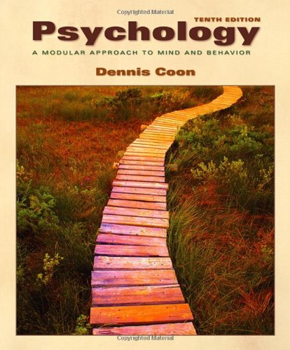 Psychology: A Modular Approach to Mind and Behavior (Available Titles CengageNOW)